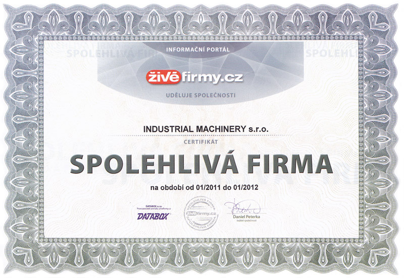 Reliable company of server živéfirmy.cz